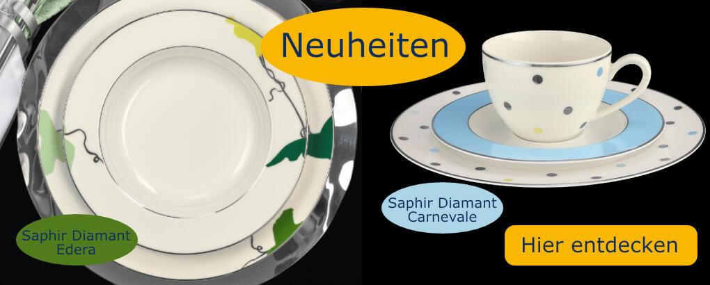 Neuheiten Saphir Diamant Edera & Carnevale im Tettau Shop