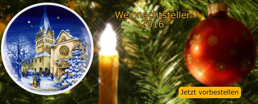 Königlich Tettau Weihnachtsteller 2016