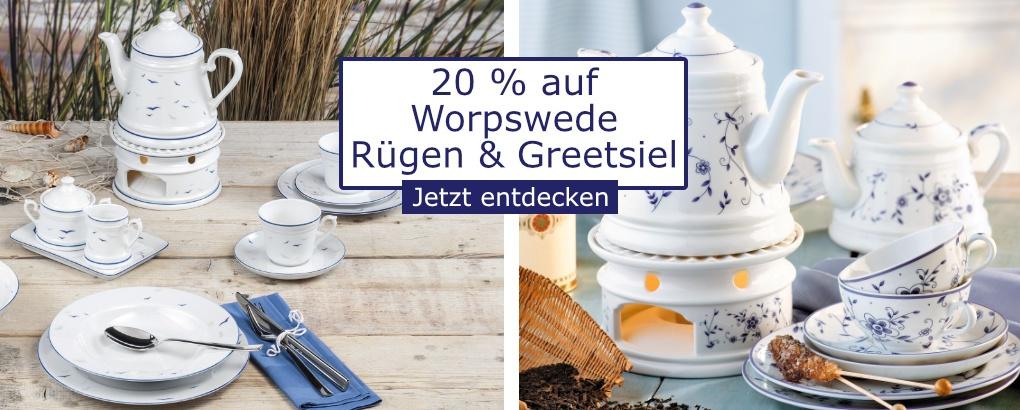 20 % auf Worpswede Rügen & Greetsiel