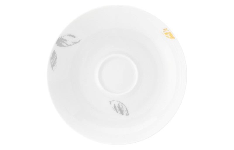 Koeniglich Tettau - Champs Élysées Kombi-Untertasse 13,5 cm Charleston Modern Grey