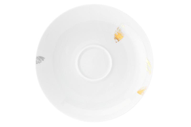 Koeniglich Tettau - Champs Élysées Kombi-Untertasse 15,5 cm Charleston Modern Grey