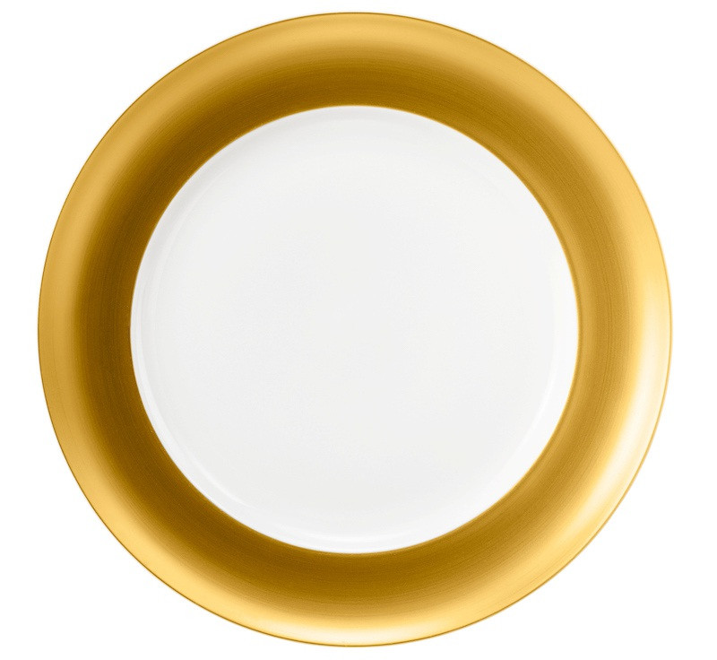 Koeniglich Tettau - Champs Élysées Speiseteller rund 27 cm Charleston Pure Gold