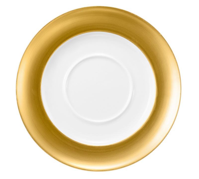Koeniglich Tettau - Champs Élysées Unterteil zur Sauciere 19,5 cm Charleston Pure Gold