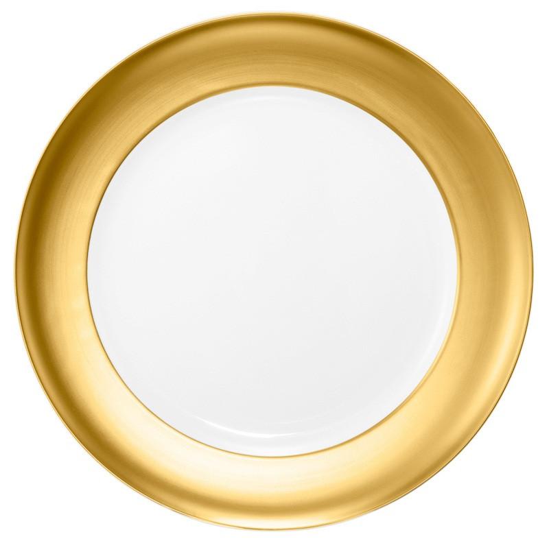 Koeniglich Tettau - Champs Élysées Servierplatte rund 30 cm Charleston Pure Gold