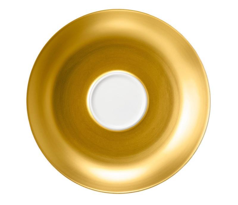 Koeniglich Tettau - Champs Élysées Kombi-Untertasse 15,5 cm Charleston Pure Gold