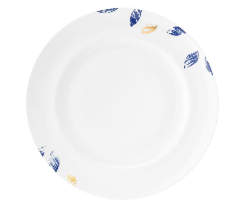 Koeniglich Tettau - Champs Élysées Frühstücksteller rund 22,5 cm Charleston Royal Blue