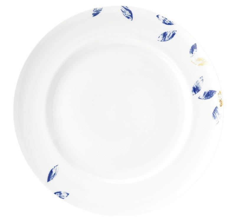 Koeniglich Tettau - Champs Élysées Speiseteller rund 27 cm Charleston Royal Blue