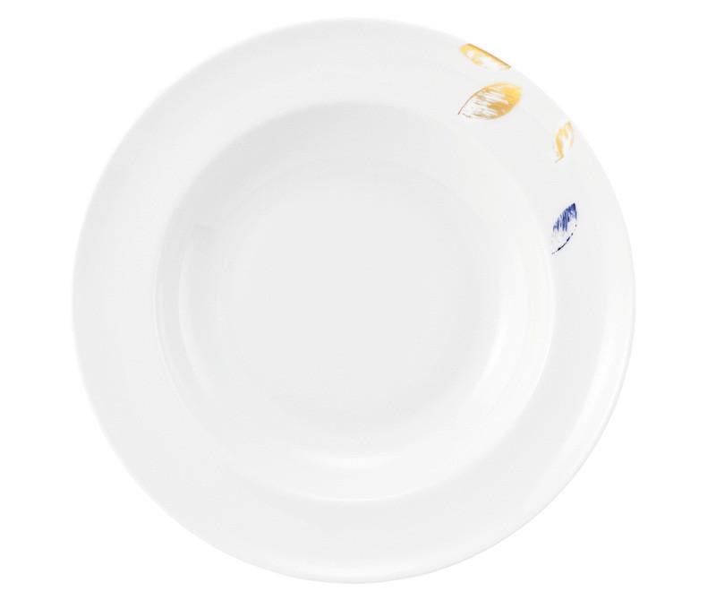 Koeniglich Tettau - Champs Élysées Suppenteller rund 23,5 cm Charleston Royal Blue
