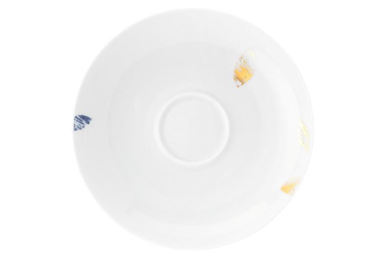 Koeniglich Tettau - Champs Élysées Kombi-Untertasse 15,5 cm Charleston Royal Blue