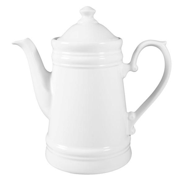Koeniglich Tettau - Worpswede Kaffeekanne 1,20 l weiß