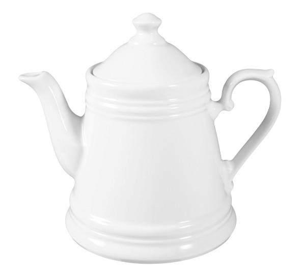 Koeniglich Tettau - Worpswede Teekanne I 1,00 l weiß