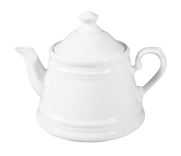 Koeniglich Tettau - Worpswede Teekanne II 0,65 l weiß