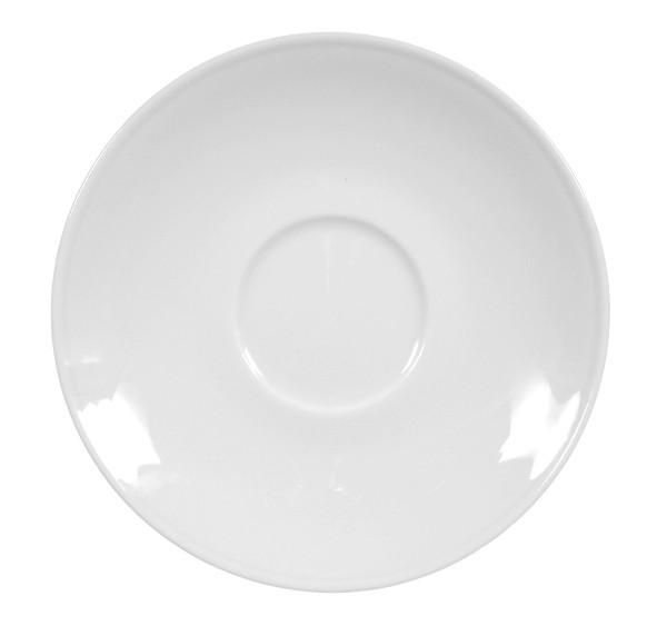 Koeniglich Tettau - Worpswede Teeuntertasse 13,5 cm weiß
