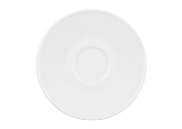 Koeniglich Tettau - Worpswede Teeuntertasse II 14,5 cm weiß