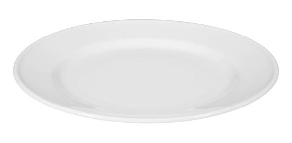 Koeniglich Tettau - Worpswede Frühstücksteller rund 20 cm weiß