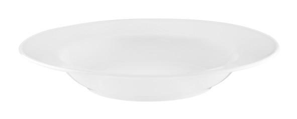 Koeniglich Tettau - Worpswede Suppenteller rund 23 cm weiß