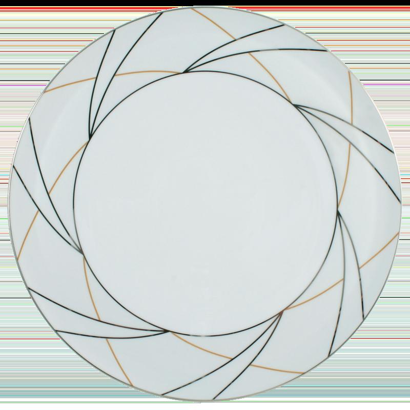 Koeniglich Tettau - Jade Tortenplatte Silk
