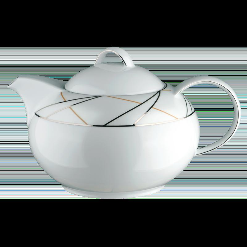Koeniglich Tettau - Jade Teekanne 6 Personen Silk