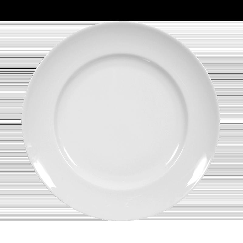 Koeniglich Tettau - Iphigenie Frühstücksteller 19 cm Fahne weiß