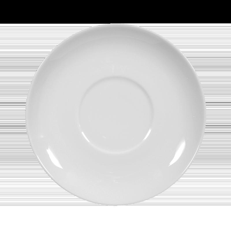 Koeniglich Tettau - Iphigenie Untere zur Suppentasse 16 cm weiß