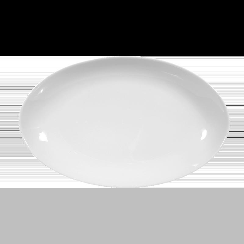 Koeniglich Tettau - Iphigenie Beilagenplatte 24 cm weiß