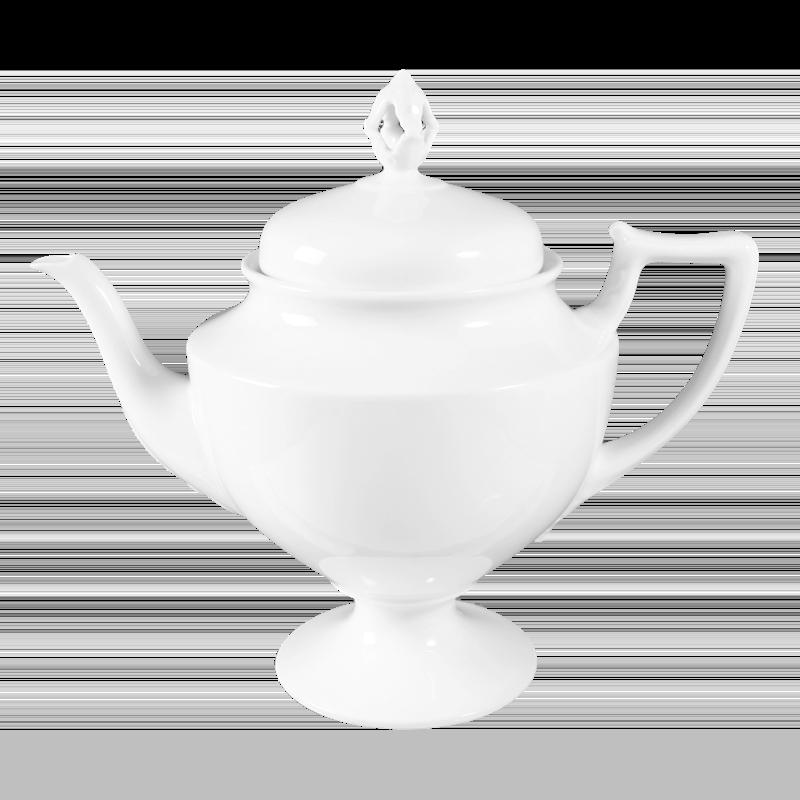 Koeniglich Tettau - Iphigenie Teekanne 6 Personen weiß