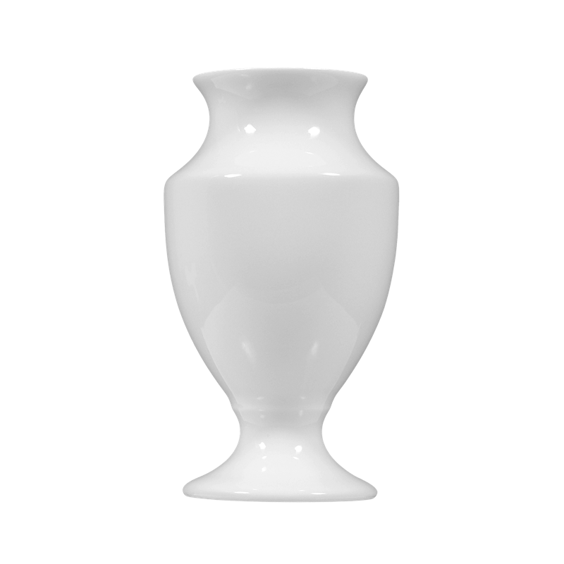 Koeniglich Tettau - Iphigenie Vase weiß