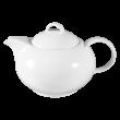 Jade  Teekanne 6 Personen weiß