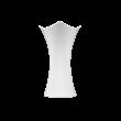 Jade  Vase 19 cm weiß