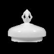 Iphigenie  Deckel zur Teekanne 6 Personen weiß