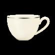 Saphir diamant Obere zur Milchkaffeetasse 0,34 l Argento