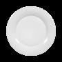 Jade Frühstücksteller 21 cm Fahne weiß