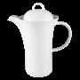Jade  Kaffeekanne 6 Personen weiß