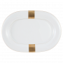 Jade Platte oval 36 cm Macao