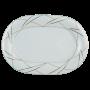 Jade Platte oval 36 cm Silk