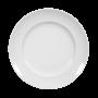 Iphigenie Frühstücksteller 19 cm Fahne weiß