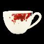 Saphir diamant Obere zur Milchkaffeetasse 0,34 l Geranienblüte