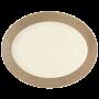 Saphir Diamant Platte oval 35 cm Mezquita