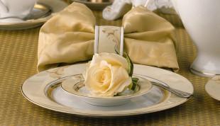 Hochzeitsporzellan von Königlich Tettau